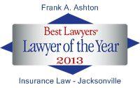 Jacksonville Personal Injury Attorney Frank A. Ashton
