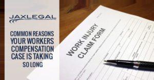 Jacksonville worker's comp Claim